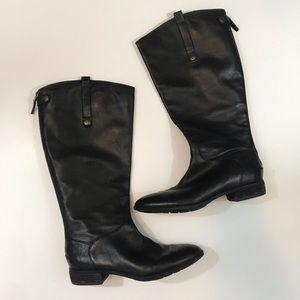 Sam Edelman wide calf black boots